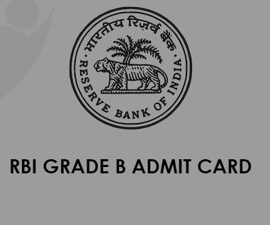 RBI Grade B Admit Card 2021
