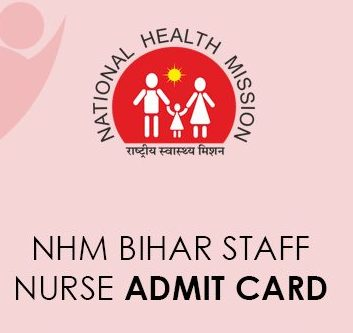 SHSB Staff Nurse Admit Card 2021