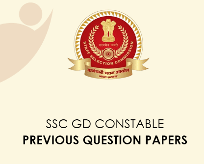 SSC GD Agent Previous Question Papers