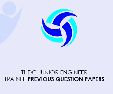 THDC Junior Engineer Trainee Previous Question Papers