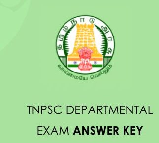 TNPSC Departmental Exam Answer Key 2021