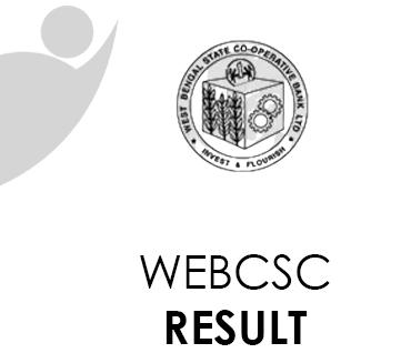 WEBCSC Result 2021