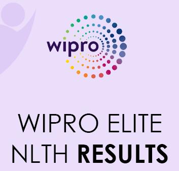 Wipro Elite NLTH Result 2021
