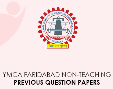 YMCA Faridabad Nonteaching Previous Question Papers