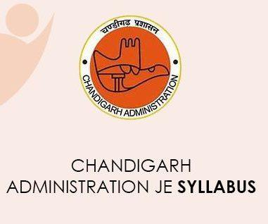 Chandigarh Administration JE Syllabus 2021