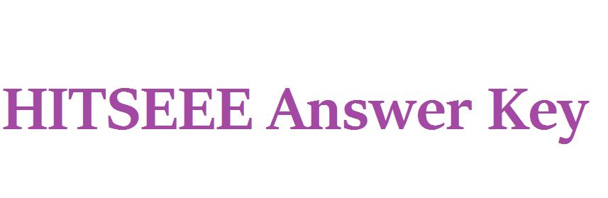 HITSEEE Answer Key 2021