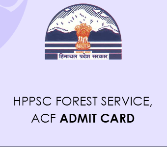 HPPSC Forest Service Admit Card 2021