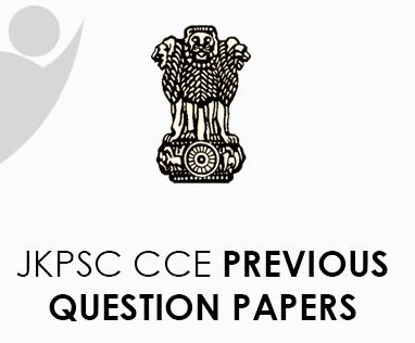 JKPSC CCE Previous Question Papers