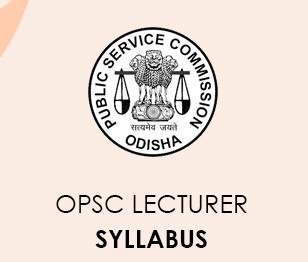 OPSC Syllabus 2021