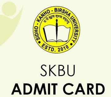 SKBU Admit Card 2021