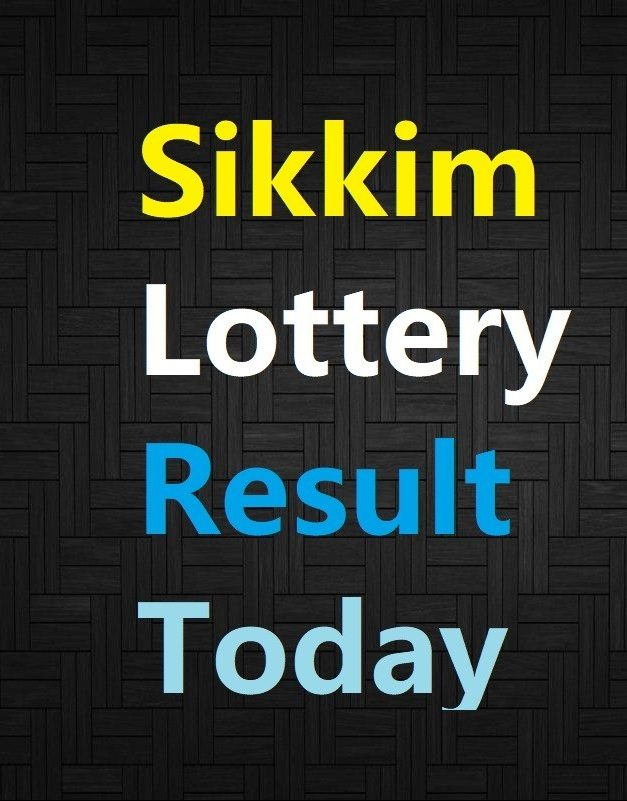 Sikkim State Lottery Result Today 1st March 2021,