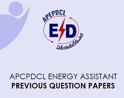 APCPDCL Energy Assistant Previous Question Pepers