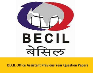 BECIL Previous Question Papers