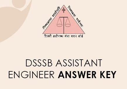 DSSSB AE Answer Key 2021
