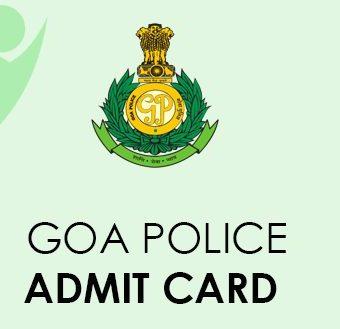 Goa Police Admit Card 2021