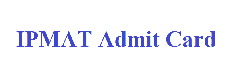 IPMAT Admit Card 2021