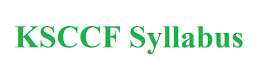 KSCCF Syllabus 2021