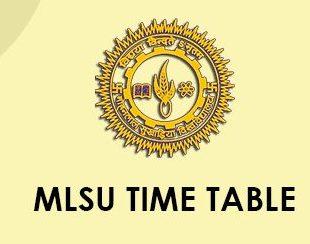 MLSU Schedule 2021