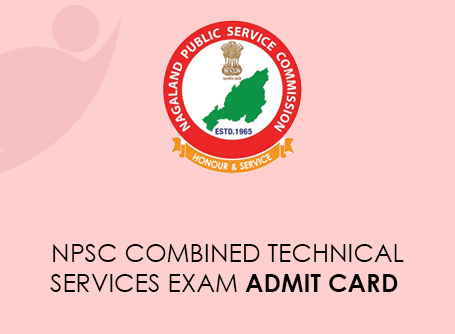 NPSC Combined Technical Services Exam Admit Card 2021