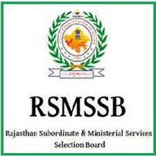 RSMSSB Gram Sevak Recruitment 2021
