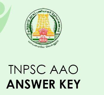 TNPSC AAO Answer Key 2021