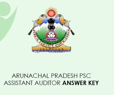 Arunachal Pradesh PSC Assistant Auditor Answer Key 2021