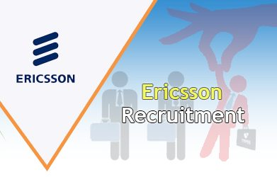 Ericsson Recruitment 2021
