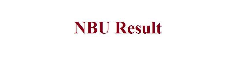 NBU Result 2021