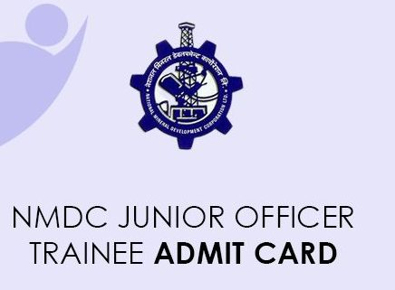 NMDC Junior Officers Admit Card 2021
