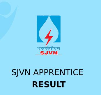 SJVN Apprentice Result 2021